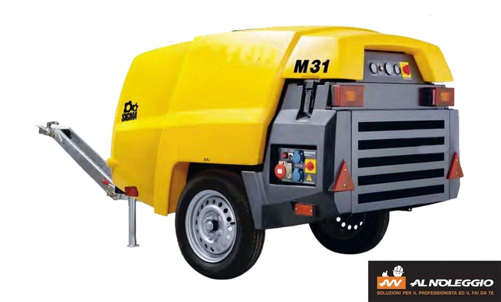 Motocompressore M31 Diesel