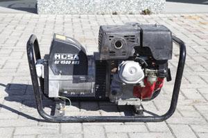 Gruppo elettrogeno 4kw 220v benzina